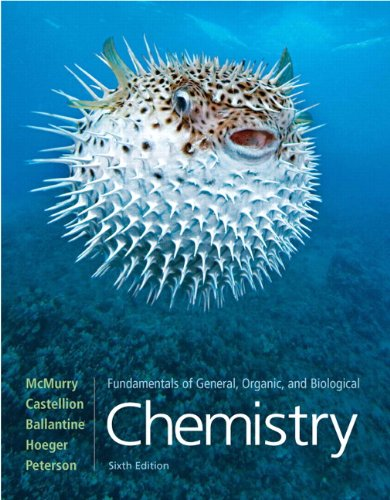 9780136054504: Fundamentals of General, Organic, and Biological Chemistry (6th Edition)
