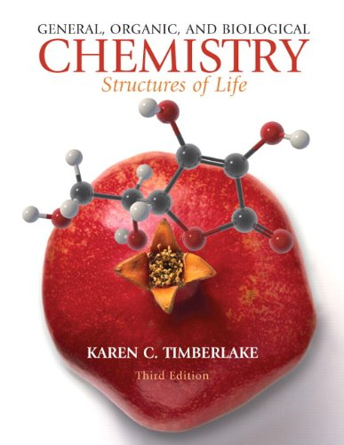 9780136054542: General, Organic, and Biological Chemistry: Structures of Life (3rd Edition)