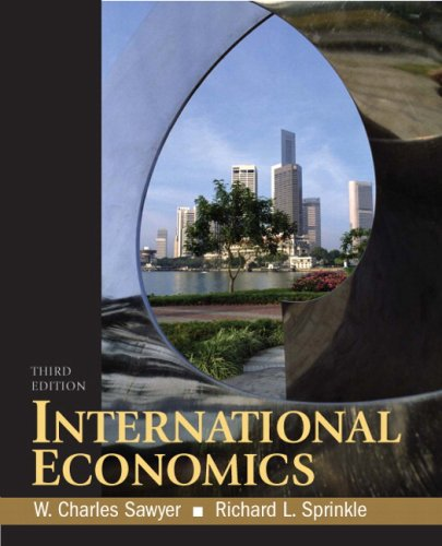 9780136054696: International Economics (3rd Edition)