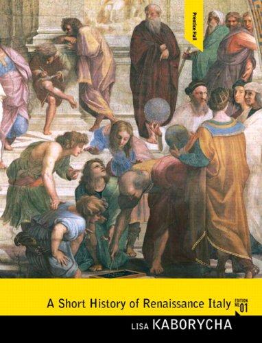 9780136054849: A Short History of Renaissance Italy
