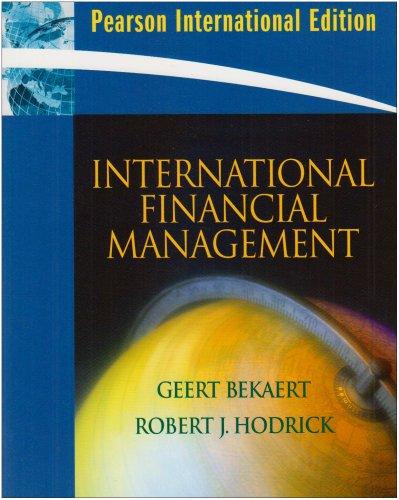 9780136054900: International Financial Management