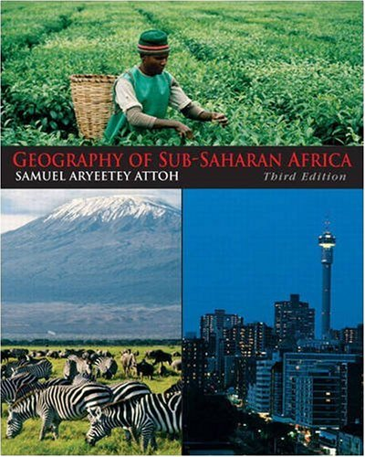 9780136056317: Geography of Sub-Saharan Africa (3rd Edition)
