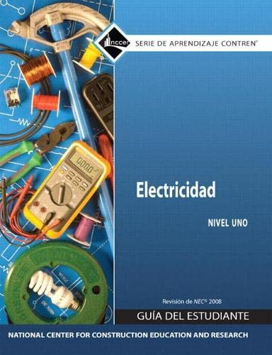 Electrical Level 1 in Spanish, Training Guide (9780136057543) by NCCER