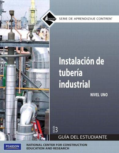 9780136057574: Pipefitting Level 1 Trainee Guide in Spanish (Domestic Version) (3rd Edition)