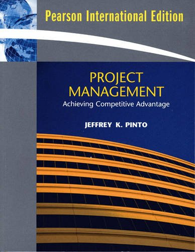 9780136057666: Project Management: Achieving Competitive Advantage