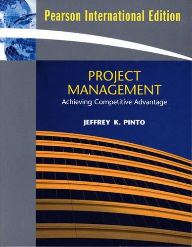 9780136057666: Project Managementachieving Competitive --2008 publication.