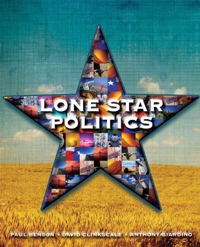 9780136057697: Lone Star Politics