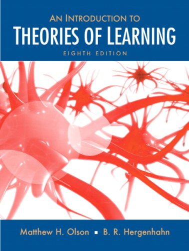 9780136057727: Introduction to the Theories of Learning (8th Edition)