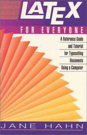 9780136059080: LaTEX for Everyone