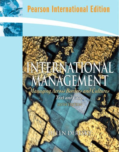 9780136060192: International Management: Managing Across Borders and Cultures: International Edition