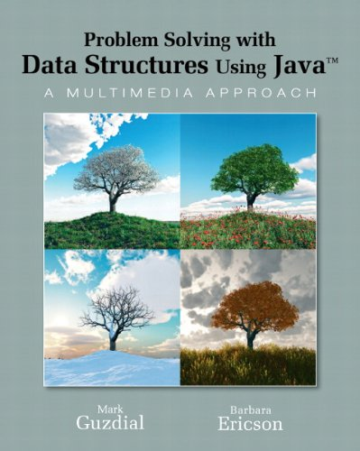9780136060611: Problem Solving with Data Structures Using Java: A Multimedia Approach