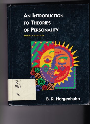 9780136061205: An Introduction to Theories of Personality