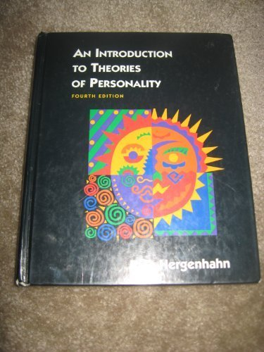 9780136061205: Introduction to Theories of Personali