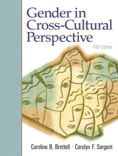 9780136061328: Gender in Cross-Cultural Perspective