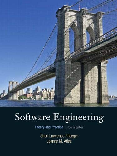 9780136061694: Software Engineering: Theory and Practice (4th Edition)