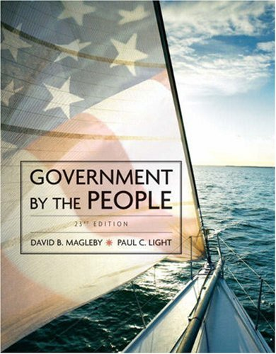 9780136062226: Government by the People, 2009 Edition (23rd Edition)