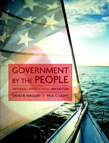 Government by the People, National, State, and: David B. Magleby,
