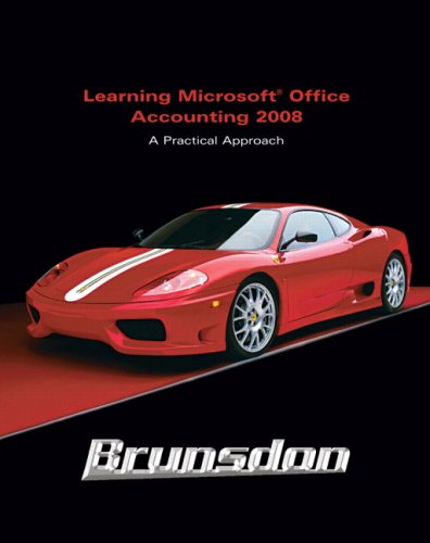 9780136063421: Learning: Microsoft Office Accounting 2008 (2nd Edition)