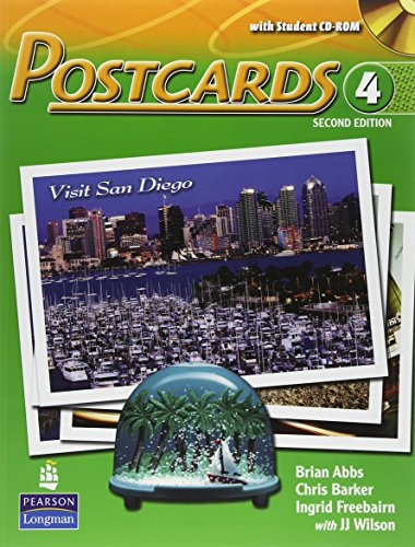 Postcards 4 with CD-ROM and Audio (2nd: ABBS & BARKER
