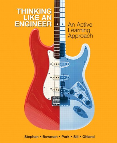 9780136064428: Thinking Like An Engineer: An Active Learning Approach: United States Edition