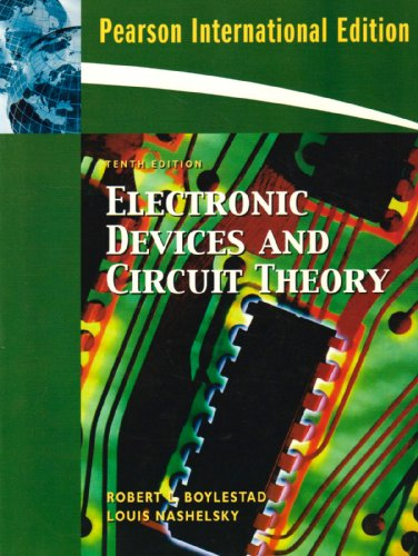 9780136064633: Electronic Devices and Circuit Theory. Robert Boylestad, Louis Nashelsky