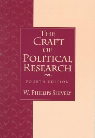 9780136064923: Craft of Political Research, The