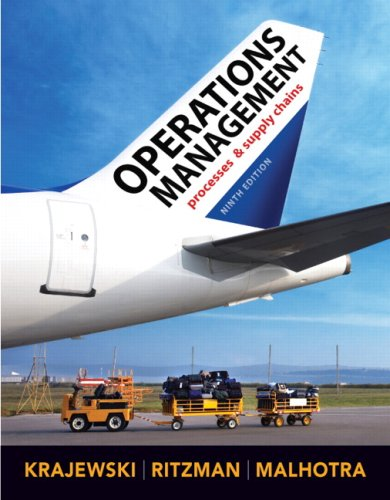 Operations Management (9th Edition): Lee J. Krajewski,