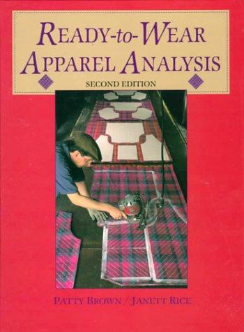 9780136065913: Ready-To-Wear Apparel Analysis