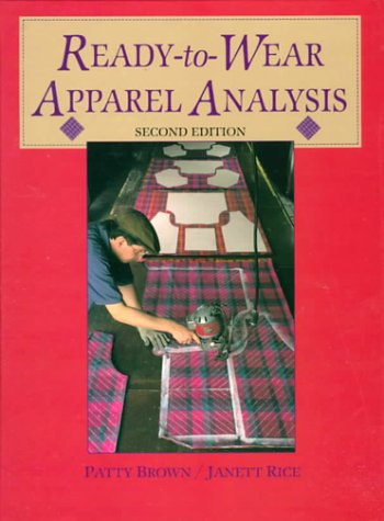9780136065913: Ready-To-Wear Apparel Analysis