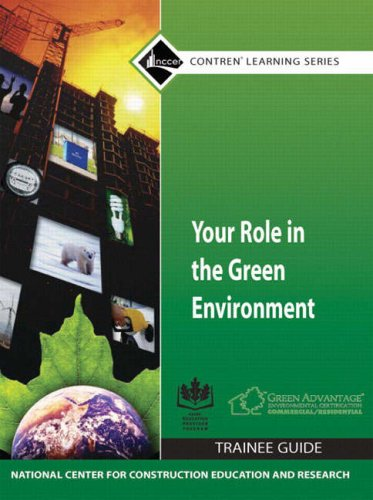9780136065968: Your Role in the Green Environment