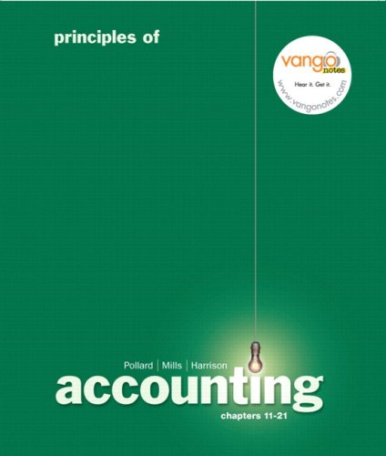 9780136066163: Principles of Accounting, Chapters 11-21 and Myaccountinglab 12-Month Access Code Package