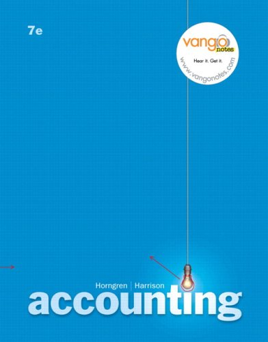 9780136066187: Accounting, Chapters 1-13, and MyAccountingLab 12-month Access Code Package (7th Edition)