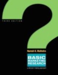 Basic marketing research: a decision-making approach. 3rd ed.