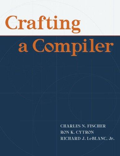 9780136067054: Crafting A Compiler