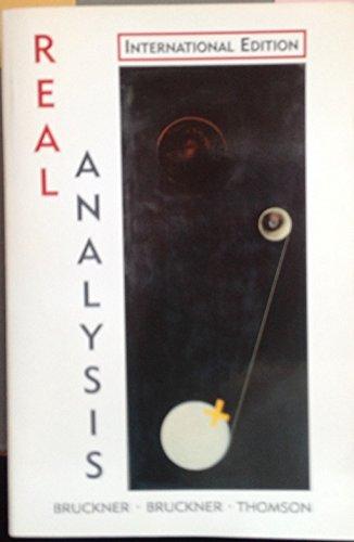 9780136067085: Real Analysis