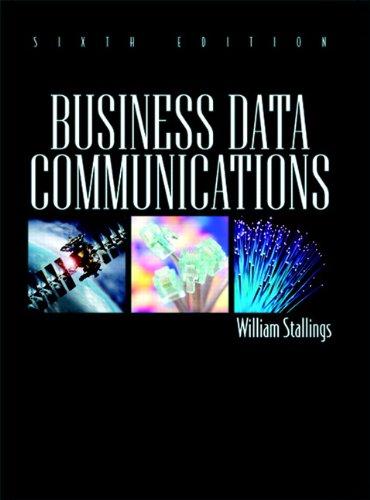 9780136067412: Business Data Communications