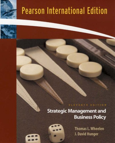 9780136068273: Strategic Management and Business Policy: International Edition