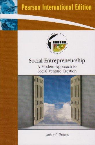 9780136069683: Social Entrepreneurship: A Modern Approach to Social Value Creation