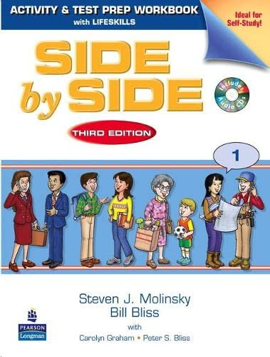 9780136070597: Side by Side 1 Activity & Test Prep Workbook (with 2 Audio CDs)