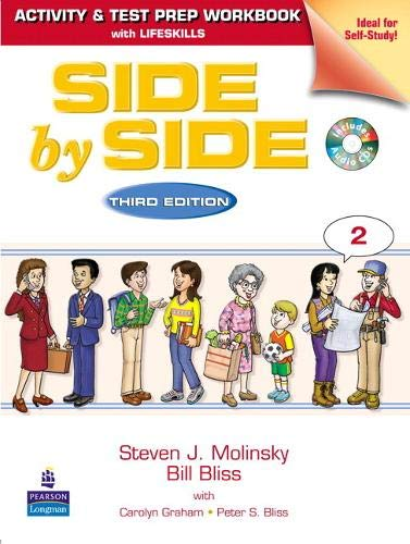 9780136070603: Side by Side 2 Activity Test Prep Workbook W/Answer Key & CDs