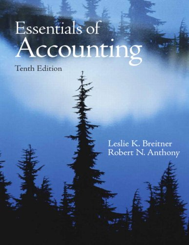 9780136071822: Essentials of Accounting (10th Edition)