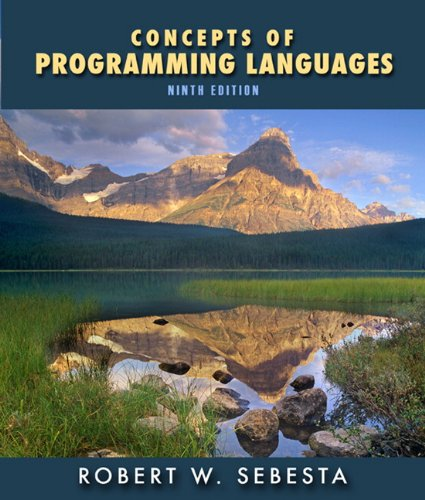 9780136073475: Concepts of Programming Languages:United States Edition