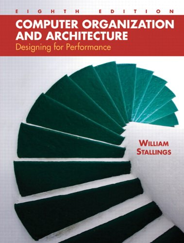 9780136073734: Computer Organization and Architecture: Designing for Performance (8th Edition)