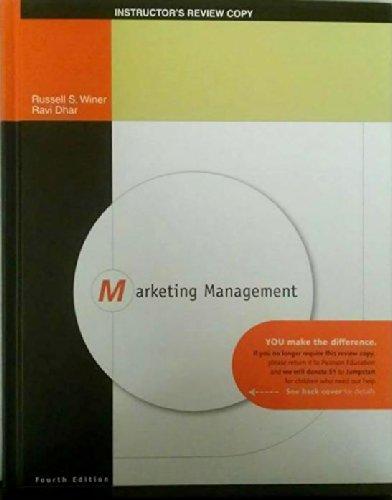9780136074625: Marketing Management