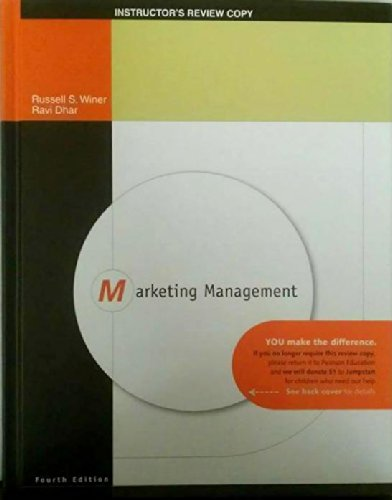 Marketing Management: Russell S. Winer