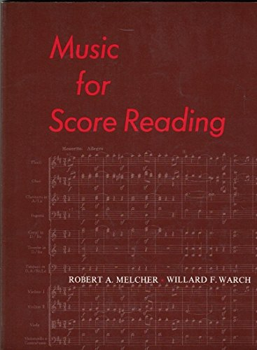 9780136075073: Music for Score Reading