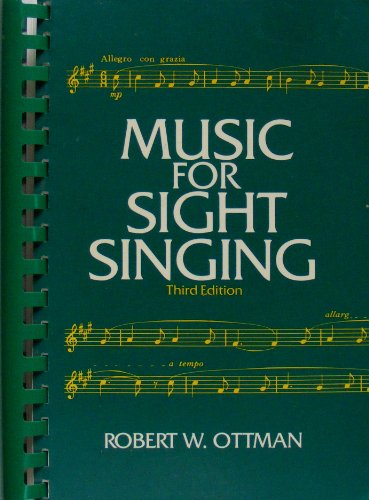 9780136075325: Music for Sight Singing, 3rd Edition