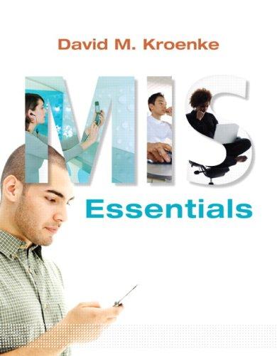 9780136075608: MIS Essentials