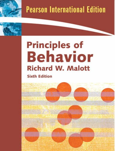 9780136076223: Principles of Behavior