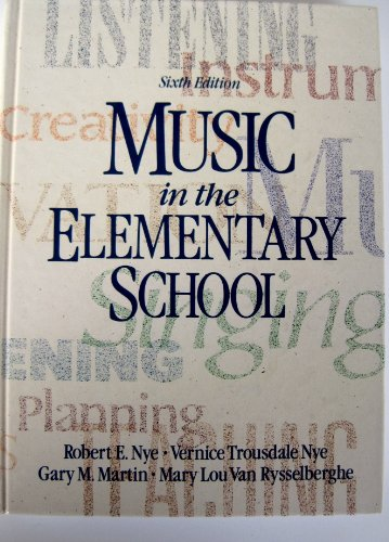 9780136077220: Music in the Elementary School